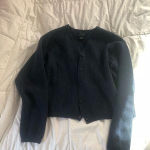 J.crew Navy blue sweater